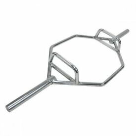 Brand New Olympic Hex Deadlift Trap Bar Weights Gym
