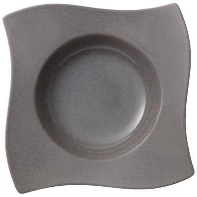 Villeroy & Boch NewWave Stone Pasta Plate 11 in - Set of 4