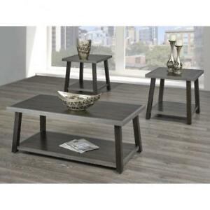 3 Pc Rustic Coffee Table Set (BD-1941)