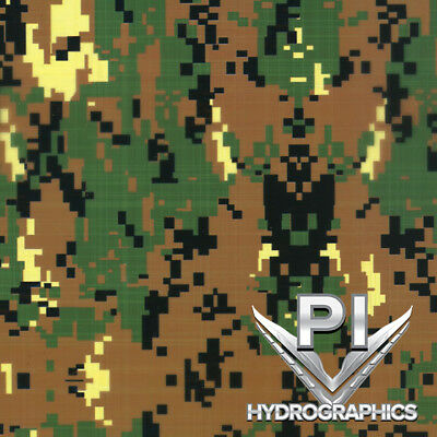 Hydrographics Film Hydro Dipping Water Transfer Printing Grntanblk Camo Mc018