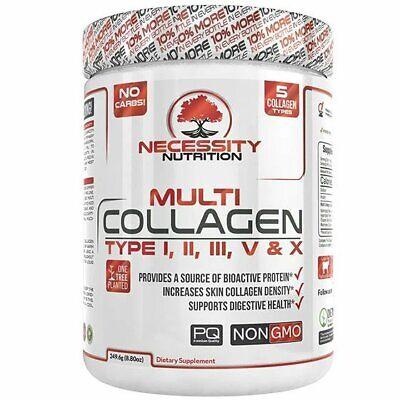 Multi Collagen Protein Powder Peptides Hydrolysate Bone Broth Marine Chicken Egg