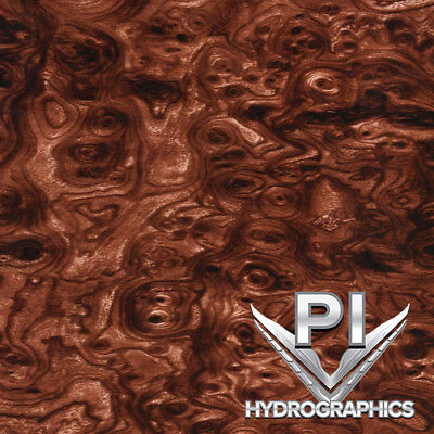 Hydrographic Film Hydro Dipping Water Transfer Printing Film Burl Wood Bw1810