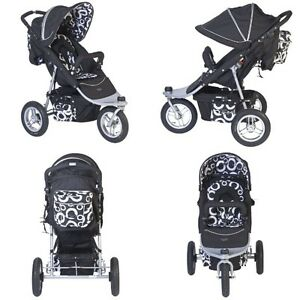 Valco Baby Stroller tri mode single with rain cover