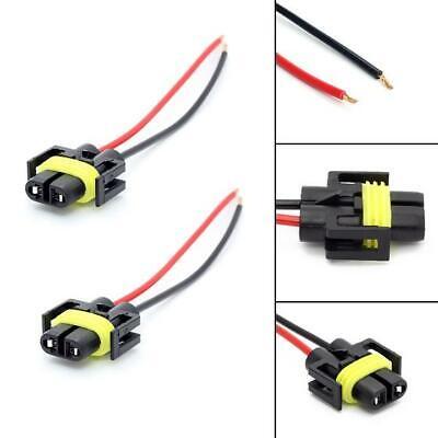 A pair of 880 881 headlight foglight female extend Wiring Harness Socket adapter