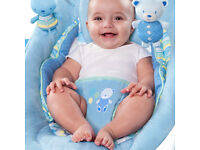 Comfort and Harmony Baby Bouncer - Bella Bellu - blue colour
