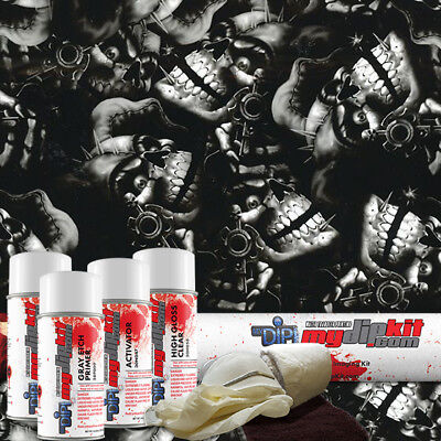 Hydro Dipping Water Transfer Printing Hydrographics Film Dip Kit Jokers Dd-926