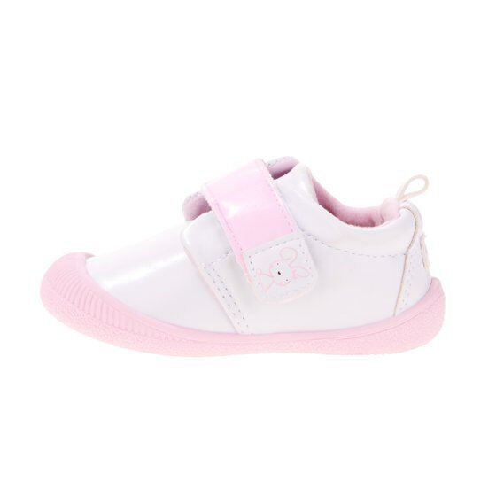 NEW - GERBER BABY Girls 'WHITE BUNNY' SHOE SIZE US 6