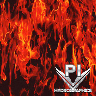 Hydrographics Film Hydro Dipping Water Transfer Print Film True Flames Ll135