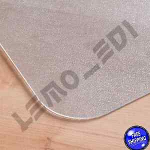 Office Chair Mat Desk Computer Plastic For Hard Floor Clear Durable Roll New