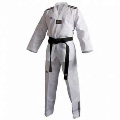 adidas Taekwondo Anzug ADI-Club 3 Dobok unisex weiß Größe 210