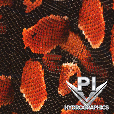 Hydrographics Film Hydro Dipping Water Transfer Printing Film Red Boa Ap109