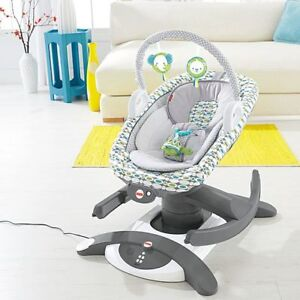 Fisher 4 in 1 rock n glide soother 80$