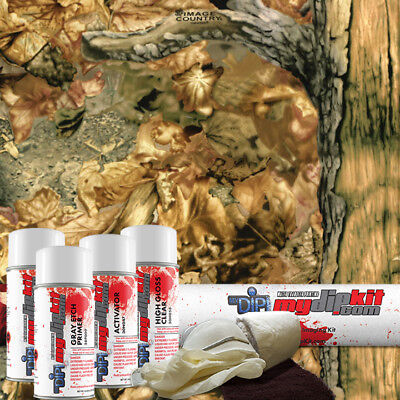 Hydro Dipping Water Transfer Printing Hydrographic Dip Kit Havoc Camo Rc-584