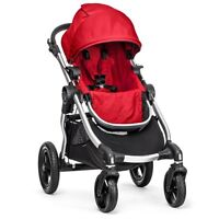 OPEN BOX BABY JOGGER CITY SELECT SINGLE STROLLER IN RED ON SALE