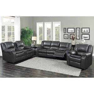 Power Recliner Set Sale- Leather Collection - Very Good Quality Couch (BD-1833)