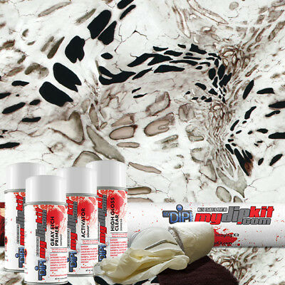 Hydrographic Film Kit Hydro Dipping Water Transfer Printing White Out Rc-421