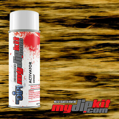 Hydrographics Water Transfer Film Dipping Activator Combo Straight Wood Sw019