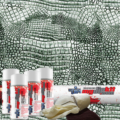Hydro Dipping Water Transfer Printing Hydrographic Film Dip Kit Gator Skin Ap879