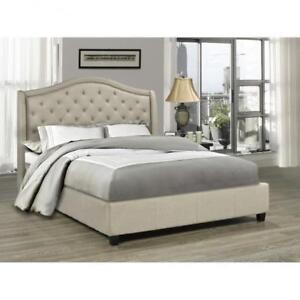 Tufted Queen Bed on Sale  (BR32)