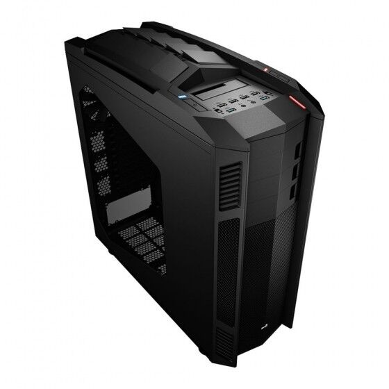 Aerocool XPredator II Case Gaming  Pc Desktop 5 Ventole Incluse 4 Porte Usb
