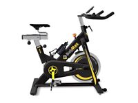 Bodymax B15 Studio Indoor Cycle Exercise Bike (Black) With Free LCD Monitor + Plus Xtra Soft Seat