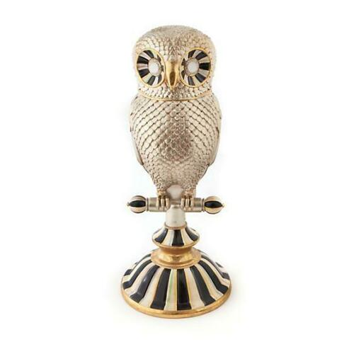 Brand New Mackenzie Childs Golden Hour Owl