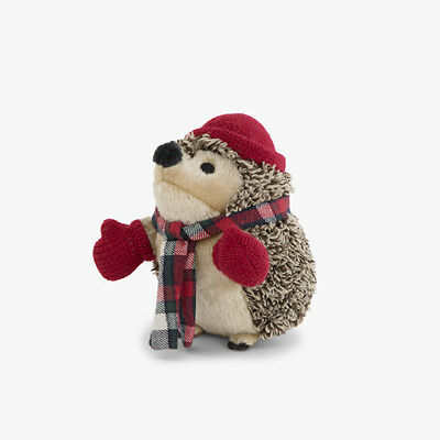 BARK BOX's HEDGEHOG PLUSH SQUEAKER DOG TOY