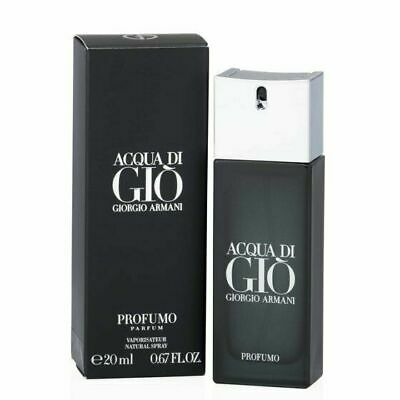 Acqua Di Gio Profumo by Giorgio Armani 20 ml / 0.67 oz parfum spray men, new