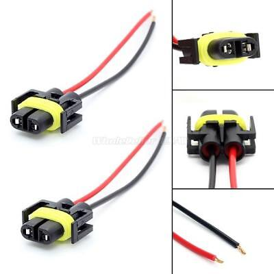 1 Pair 881 H11 880 Plug Wiring Harness Sockets For Headlight Fog Driving Light