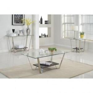 GLASS COFFEE TABLE CANADA  FREE SHIPPING ON SELECT PRODUCTS (BD-261)