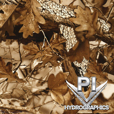 Hydrographic Film Hydro Dipping Transfer Film Brown Fall Leaves Camo Hc213