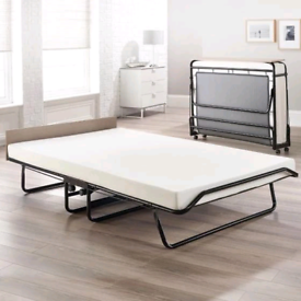 Fold away double bed