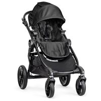 BABY JOGGER CITY SELECT SINGLE STROLLER IN BLACK ON SALE