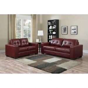 Red Couch for Sale | Red Sofa | Red Leather Couch | Red Couch - Brand New Lot of Designs Available (BD-1221)
