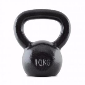(((((( 10kg Kettlebell Cast Iron Weights - £15 - Collection Only! )))))))