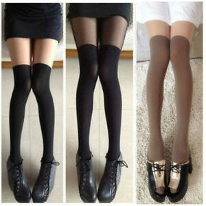 Sexy Tights Mock Knee High Hosiery Pantyhose Tattoo Female Tights Long Stocking. Brand New · Unbranded. $ From China. Buy It Now. Free Shipping. 99+ Sold. Gipsy Mock Ribbed Over the Knee Tights Black Sock Look Fashion Tights See more like this. Girl's Cute Cartoon Animal Pantyhose Mock Knee High Tattoo Tights Stockings. Brand New.