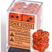 Orange Dice 16mm