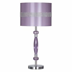 ASHLEY PURPLE LAMP