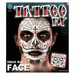 neptatoeage Face Tattoo Sugar Man polyester