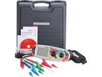 Brand new Megger MFT1721-BS multifunction tester, with 30m wander lead and calibration certificate.