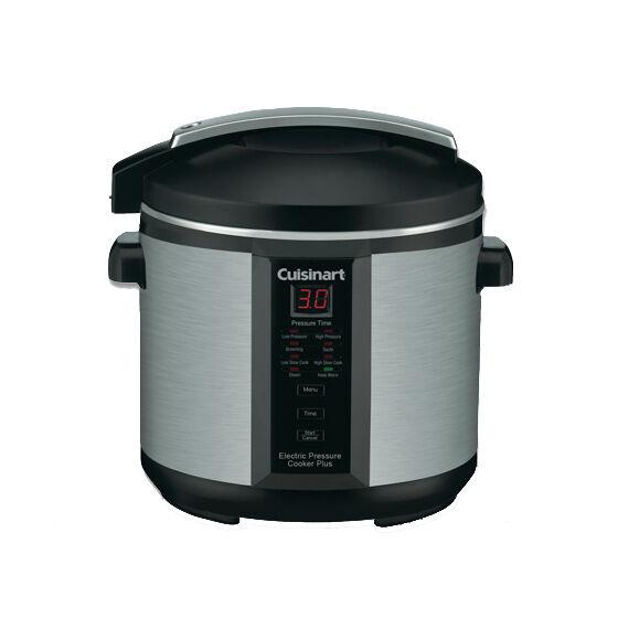 Cuisinart Pressure Cooker Plus RRP $199.00 New Slow Cooker BONUS COOKBOOK