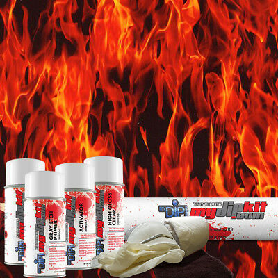 Hydrographic Kit Hydro Dipping Water Transfer Print Hydro Dip Trueflames Ll-135
