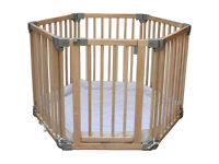 Clippasafe Wooden Playpen in very good condition