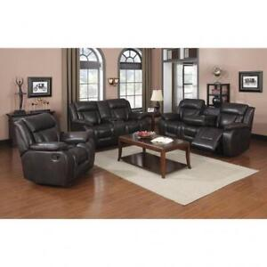 Leath-Aire breathable 3 PC Recliner Set (BR235)