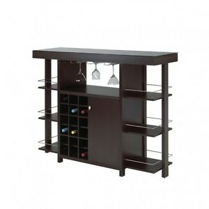 BAR W. TEMPERED GLASS TOP