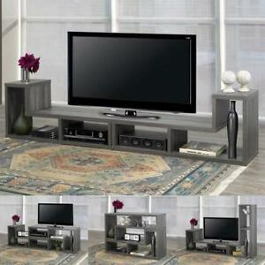 "70"" TV stand and customizable shelving (BD-1931)"