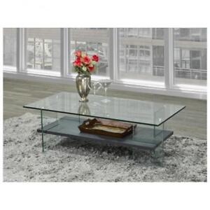 Glass Coffee Table  (BR228)