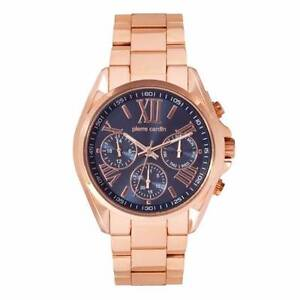 Pierre Cardin Gents Watch Black and rose gold chronograph watch Dandenong Greater Dandenong Preview