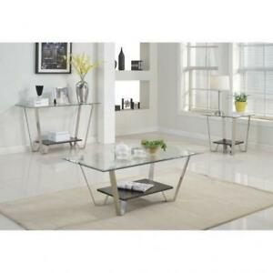 Modern Silver Coffee Table (BR224)