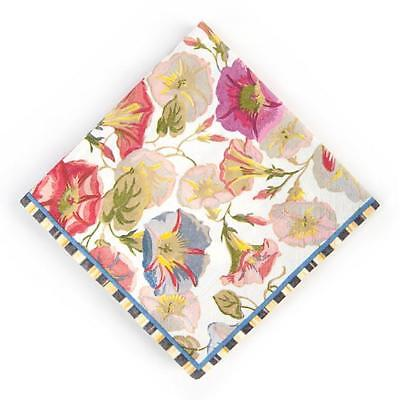 Mackenzie-Childs Morning Glory Paper Napkins Cocktail ~ NEW & AUTHENTIC ~